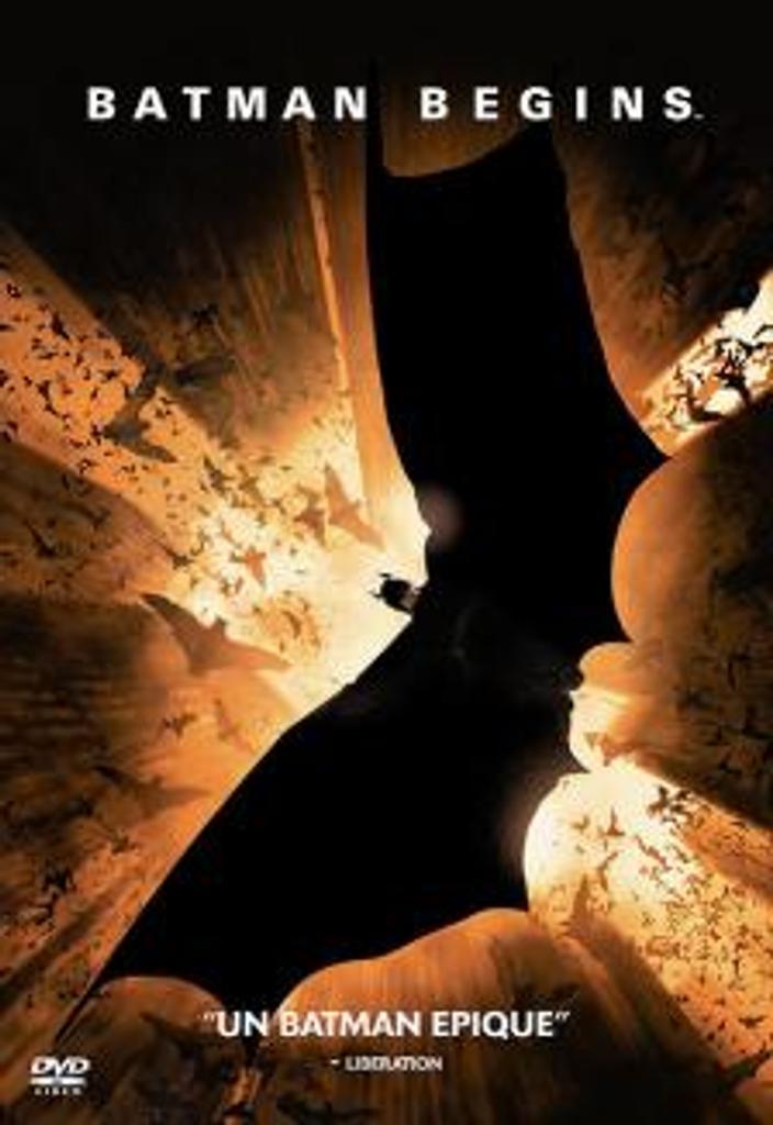 Batman begins : [Etats-Unis - 2005] / Christopher Nolan, réal. | Nolan, Christopher. Metteur en scène ou réalisateur