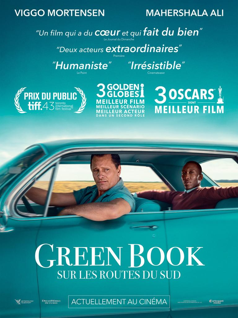 Green book : sur les routes du sud / Peter Farrelly |