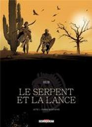 Serpent et la Lance : Acte1 - Ombre-montagne / Illustrations de Hub, Couleurs de Li | Hub. Illustrateur