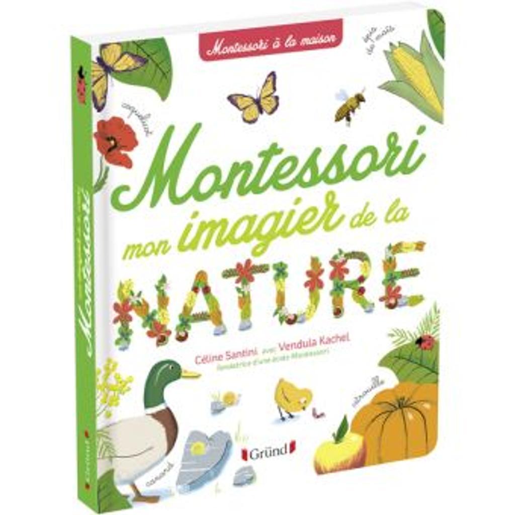Montessori mon imagier de la nature |
