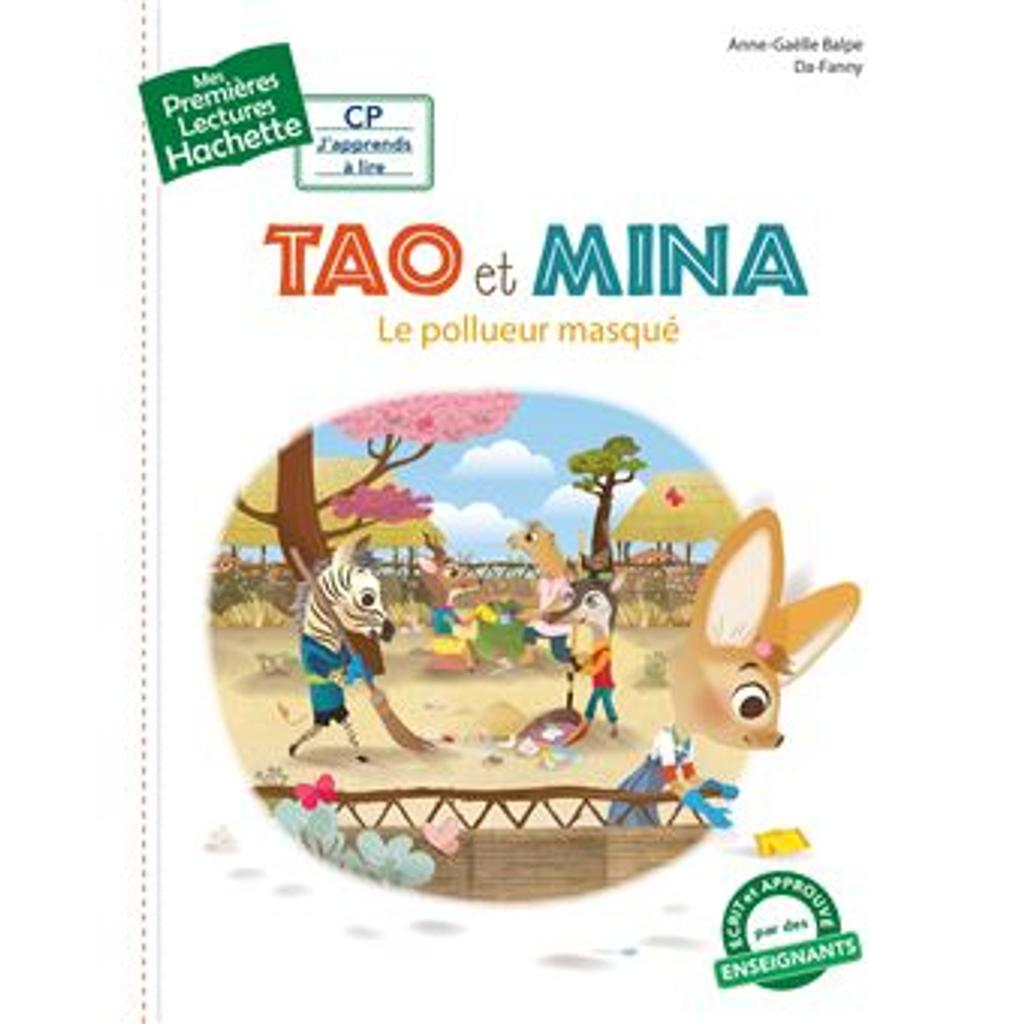 le pollueur masqué : Tao et Mina |