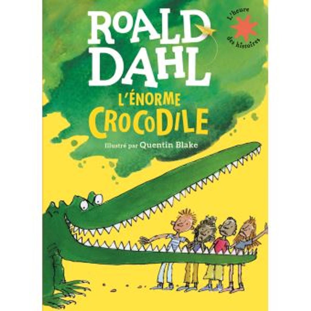 l'énorme crocodile |