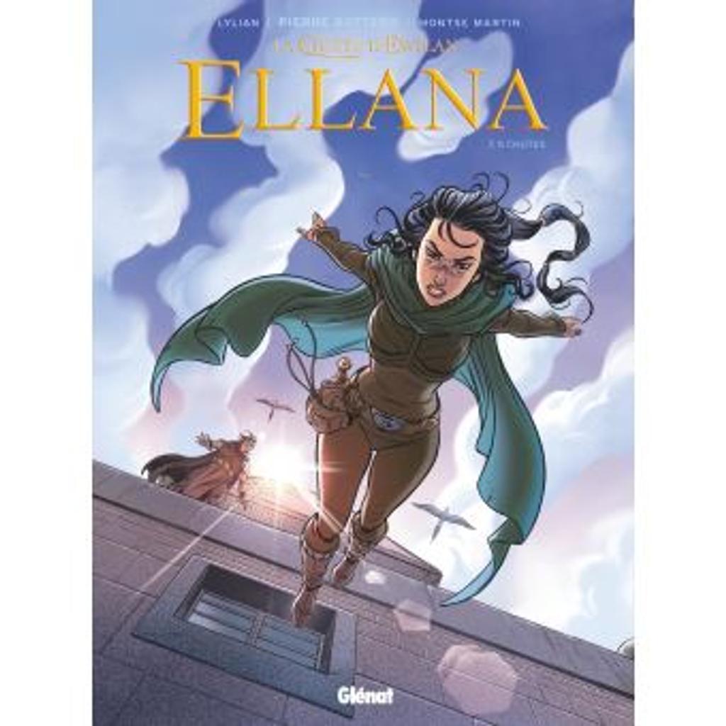 chutes : la quête d'Ewilan:Ellana. 5  